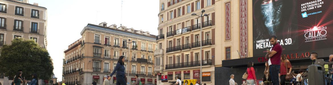 Calle comercial Madrid